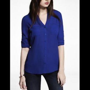 Navy blue Convertible Sleeve Portofino Shirt